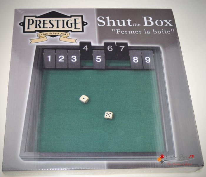 Shut the box 9 prestige pas cher