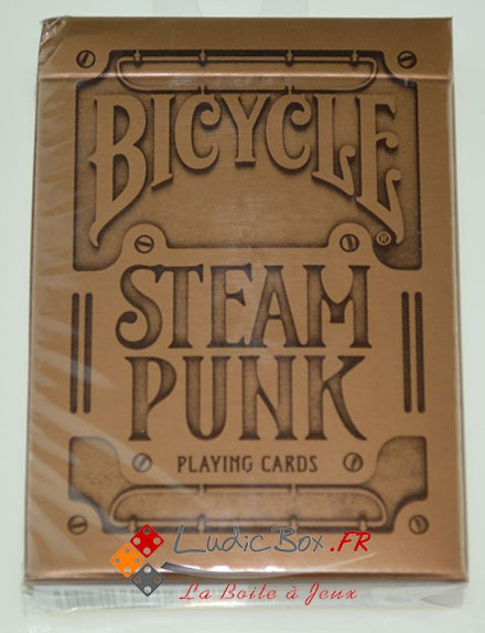 Jeu de Cartes CLASSIC Bicycle Steampunk pas cher