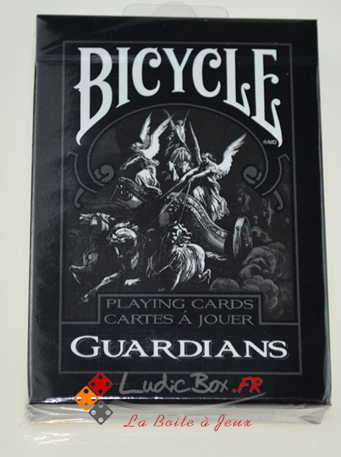 Jeu de Cartes - CLASSIC Bicycle Guardians deck pas cher
