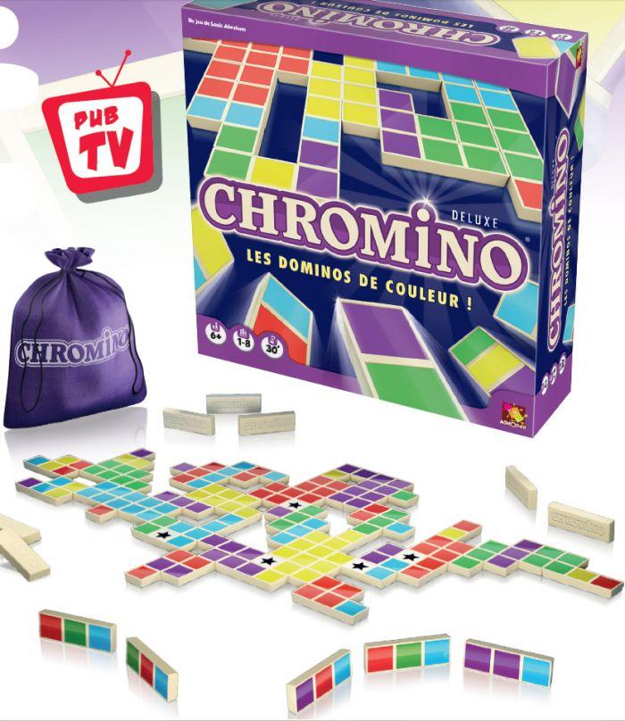 Ludicbox  Chromino Deluxe (FR)  Jeux Enfants