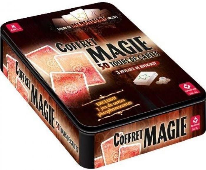 ludicbox coffret metal magie 50 tours jeux enfants. Black Bedroom Furniture Sets. Home Design Ideas