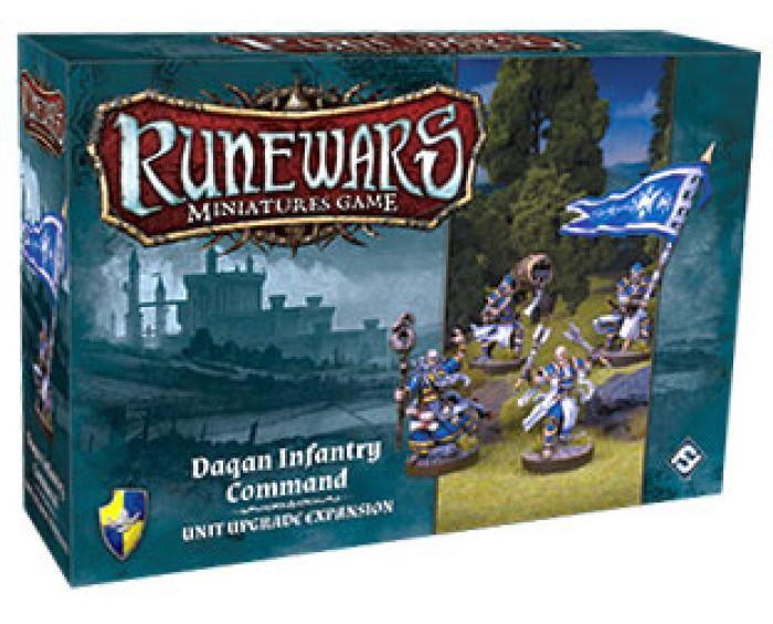 328ea01ea7327 Ludicbox - Runewars Miniatures Games: Daqan Infantry Command (VO ...