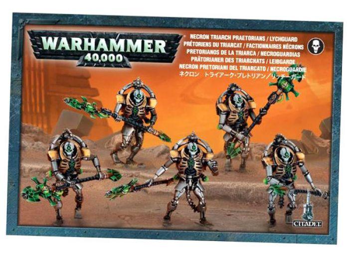 Ludicbox pretoriens du triarcat factionnaires necrons for Portent warhammer