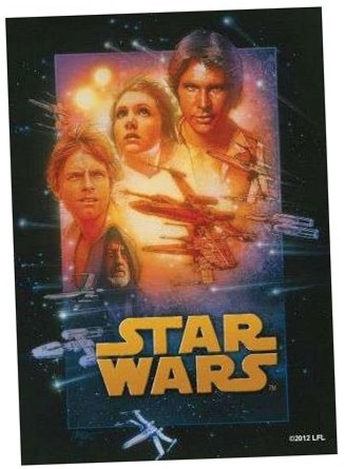 50 proteges cartes - Star Wars Art Sleeves A New Hope (63.5 mm X 88 mm) pas cher