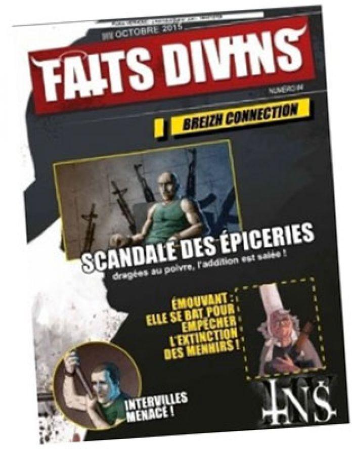 Faits Divins N 4: Supplements INS/MV-Generation Perdue pas cher