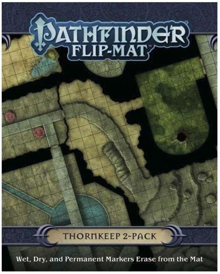 GameMastery Flip-Mat Thormkeep 2-Pack pas cher