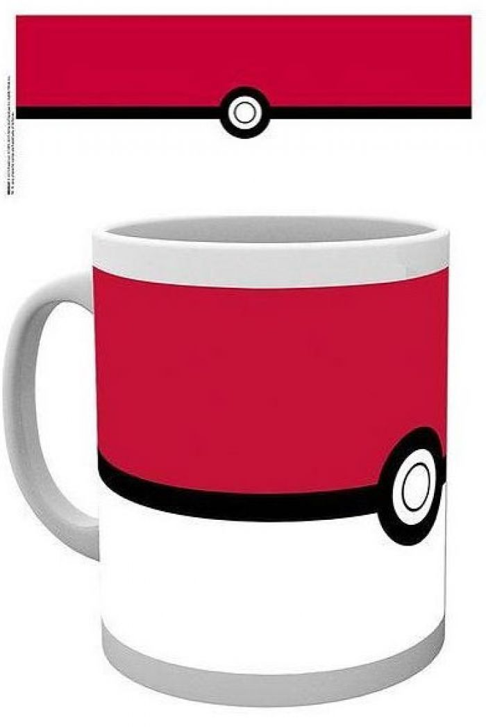 Pokemon Pokeball Mug pas cher
