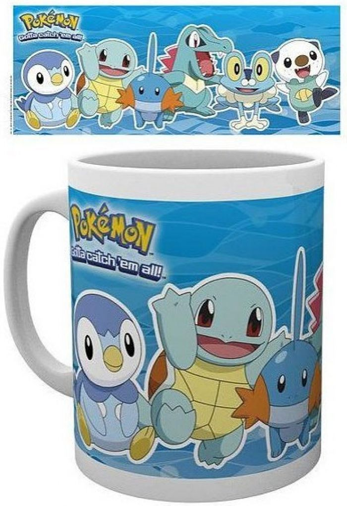 Pokemon Water Partners Mug pas cher