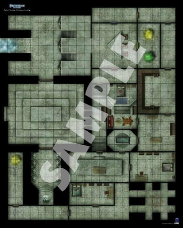 Ludicbox Pathfinder Gamemastery Flip Mat Thormkeep 2
