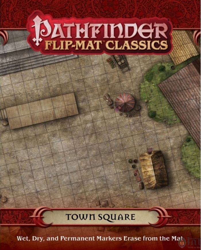 GameMastery Flip-Mat Classics TownSquare pas cher