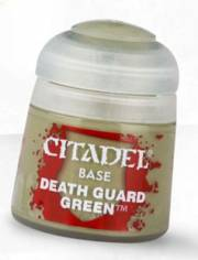 acceder a la fiche du jeu BASE: DEATH GUARD GREEN (12ML)