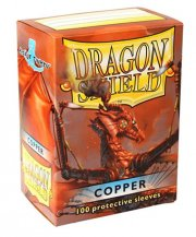 acceder a la fiche du jeu Dragon Shield - Standard Protèges cartes - Copper (x100)