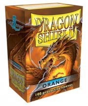 acceder a la fiche du jeu Dragon Shield - Standard Protèges cartes - Orange (x100)