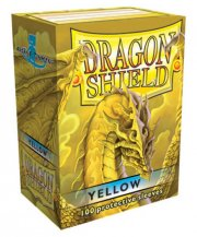 acceder a la fiche du jeu Dragon Shield - Standard Protèges cartes - Yellow (x100)