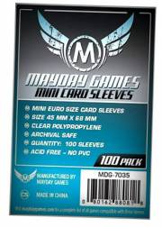 acceder a la fiche du jeu 45x68mm Mini Euro Standard - Sleeves Mayday