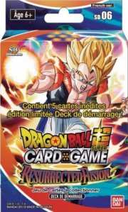 acceder a la fiche du jeu DRAGON BALL SUPER CARD GAME - Starter 6 GOGETA