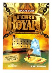 acceder a la fiche du jeu Escape book Junior Fort Boyard