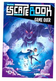 acceder a la fiche du jeu ESCAPE BOOK Junior  GAME OVER (VF)