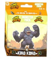 acceder a la fiche du jeu King of Tokyo - Monster Pack : king kong