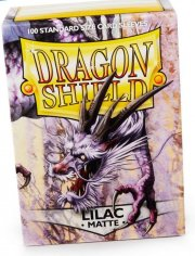 acceder a la fiche du jeu Dragon Shield MATTE - Lilac (100 ct. in box)