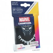 acceder a la fiche du jeu Gamegenic - Marvel Champions Art Sleeves - Black Panther (50+1 Sleeves)