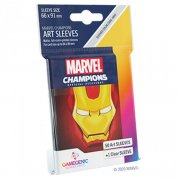 acceder a la fiche du jeu Gamegenic - Marvel Champions Art Sleeves - Iron Man (50+1 Sleeves)