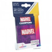 acceder a la fiche du jeu Gamegenic - Marvel Champions Art Sleeves - Marvel Purple (50+1 Sleeves)