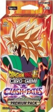 acceder a la fiche du jeu DRAGON BALL SUPER JCC – Premium Pack Theme Boosters