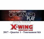 acceder a la fiche du jeu Star Wars X-wing 2017 Quarter 1 Tournament Kit