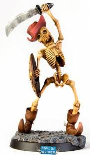acceder a la fiche du jeu Smallworld Figurine Skeleton