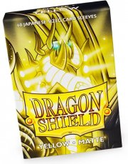 acceder a la fiche du jeu Dragon Shield MATTE - Japanese Sleeves Yellow
